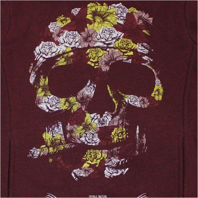 Yakuza Premium Women Sweatshirt GH 2150 wine red – Bild 2