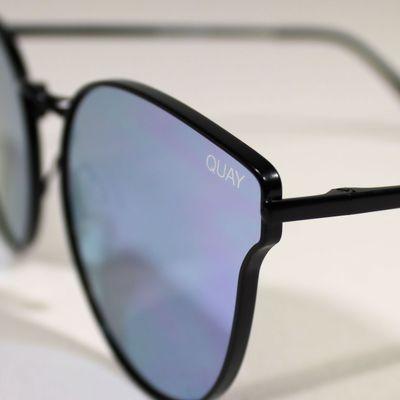 Quay Australia Damen Sonnenbrille ALL MY LOVE black purple – Bild 3