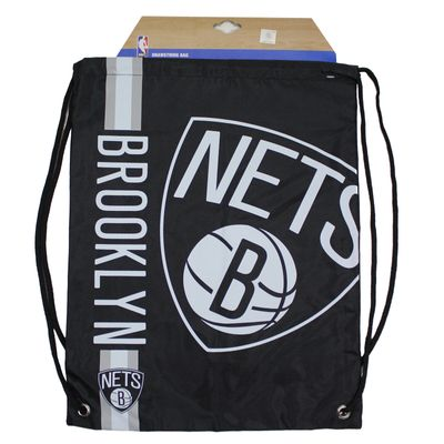 Forever C. Gym Bag BROOKLYN NETS black Turnbeutel Sport Beutel – Bild 4