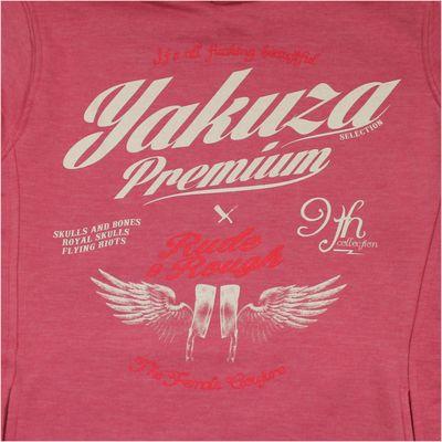 Yakuza Premium Damen Sweatshirt GH 2153 rosa Lang – Bild 2