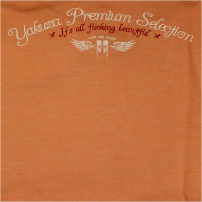 Yakuza Premium Damen Sweatshirt GH 2149 orange – Bild 4