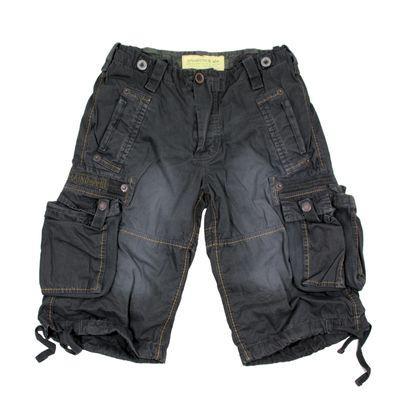 Alpha Industries Shorts Terminal greyblack – Bild 1