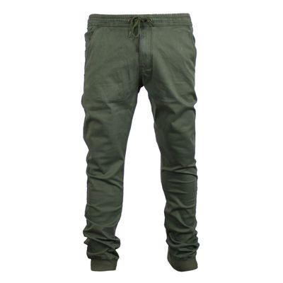 REELL Herren Jeans Reflex Rib Pant Olive LONG – Bild 2