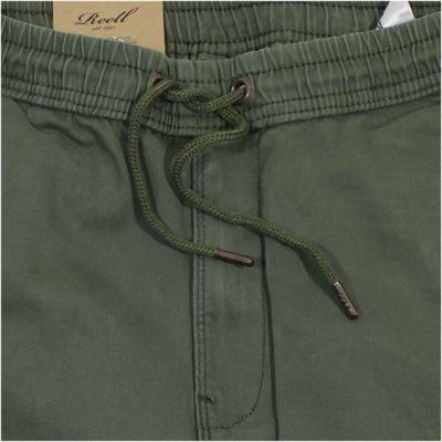 REELL Herren Jeans Reflex Rib Pant Olive LONG – Bild 3