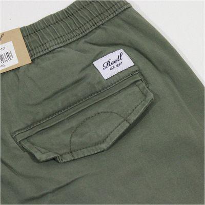 REELL Herren Jeans Reflex Rib Pant Olive LONG – Bild 6