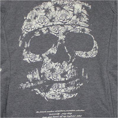 Yakuza Premium Women Sweatshirt GH 2148 grey extralong – Bild 2