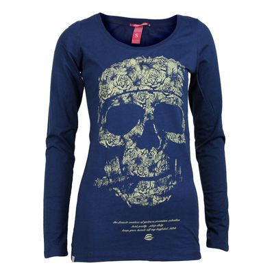 Yakuza Premium Damen Long Sleeve Shirt GS 2143 navy – Bild 1