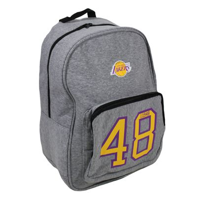 Forever C. Back Bag LA LAKERS grey Rucksack – Bild 1