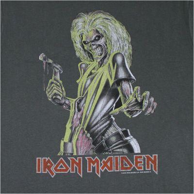 Amplified Herren T-Shirt IRON MAIDEN anthrazit – Bild 3