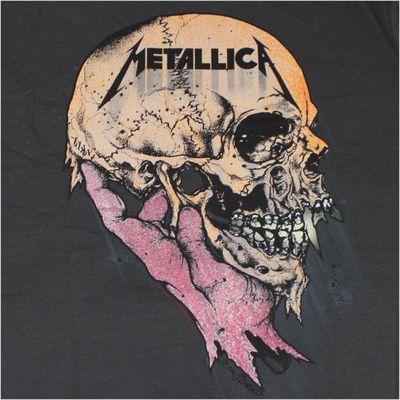 AMPLIFIED Herren T-Shirt METALLICA anthrazit – Bild 3