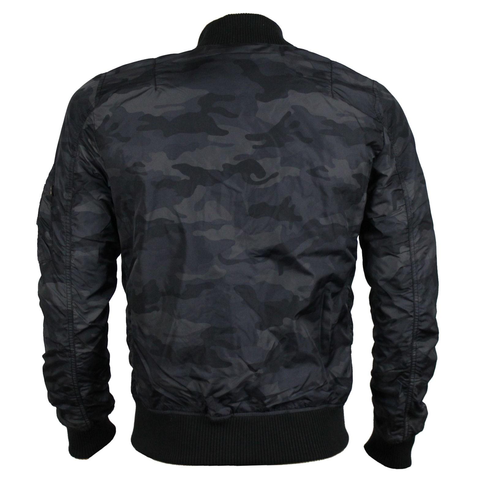 Camouflage jacke schwarz