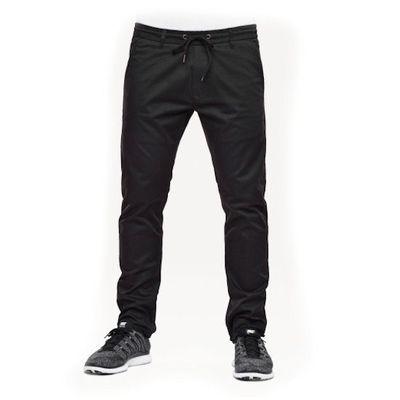 Reell Jeans Herren Reflex Easy Pant Black LONG – Bild 2