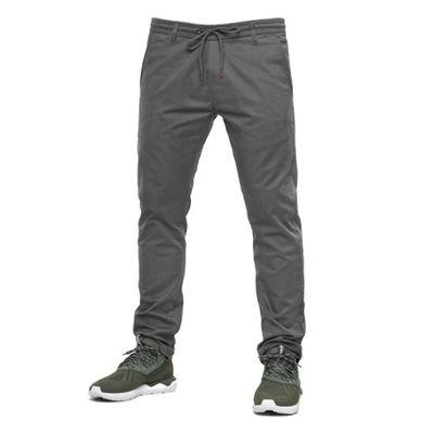 Reell Jeans Herren Reflex Easy Pant Grey LONG – Bild 2