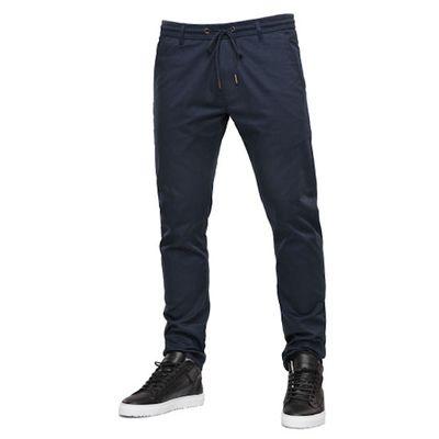 Reell Jeans Herren Reflex Easy Pant Navy LONG – Bild 2