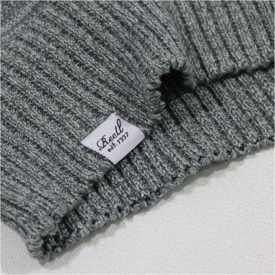 REELL JEANS Herren Pullover Knitted Striped Light Grey – Bild 4
