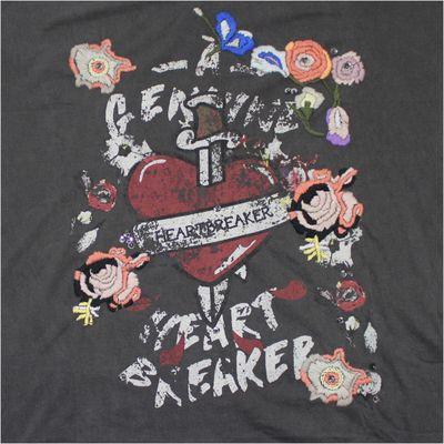 Religion Clothing Damen Shirt HEARTBREAKER washed black – Bild 4