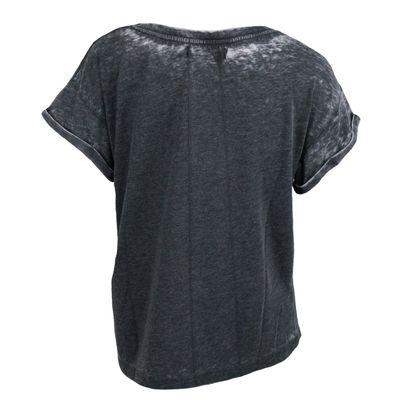 Religion Clothing Damen Shirt LABYRINTH TEE charcoal – Bild 2