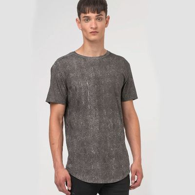 RELIGION CLOTHING Herren T-Shirt ROMAN TEE dark grey – Bild 3