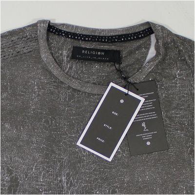 Religion Clothing Herren T-Shirt ROMAN TEE dark grey – Bild 4