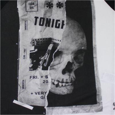 Religion Clothing Herren T-Shirt CLUB NIGHT RAGLAN white black – Bild 3