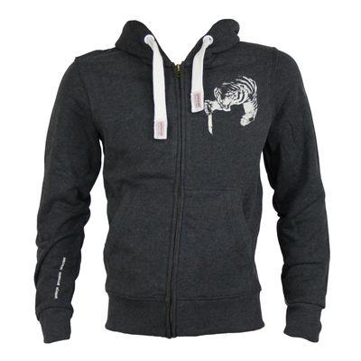 Yakuza Premium Sweatjacket YPHZ 2224 anthrazit – Bild 1