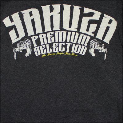 Yakuza Premium Sweatjacket YPHZ 2224 anthrazit – Bild 4