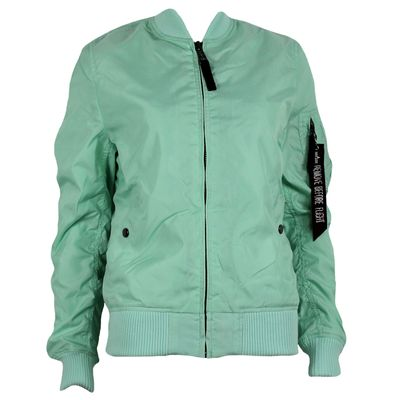 ALPHA INDUSTRIES Damen Fliegerjacke MA-1 TT wmn mint – Bild 1