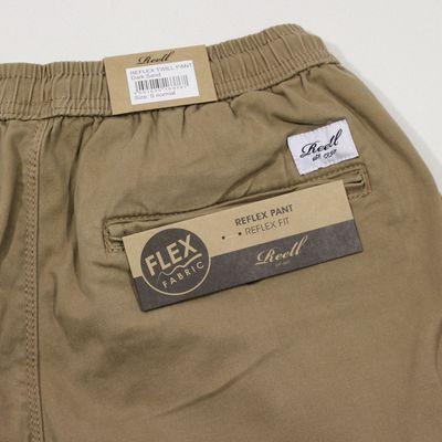 Reell Jeans Herren Reflex Twill Pant dark sand LONG – Bild 4