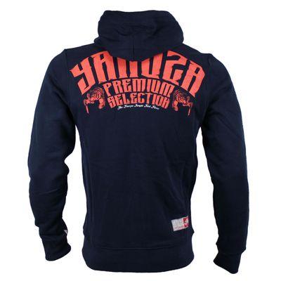 Yakuza Premium Sweatjacket YPHZ 2224 navy – Bild 2