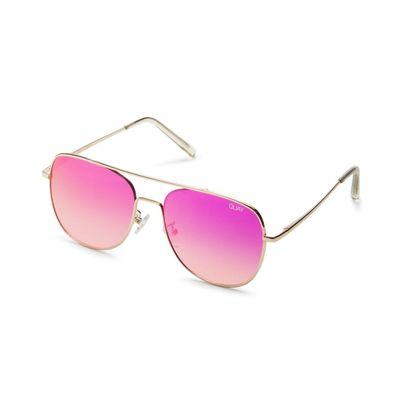 Quay Australia Damen Sonnenbrille RUNNING RIOT pink – Bild 1