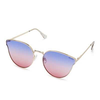 Quay Australia Damen Sonnenbrille ALL MY LOVE purple pink – Bild 1