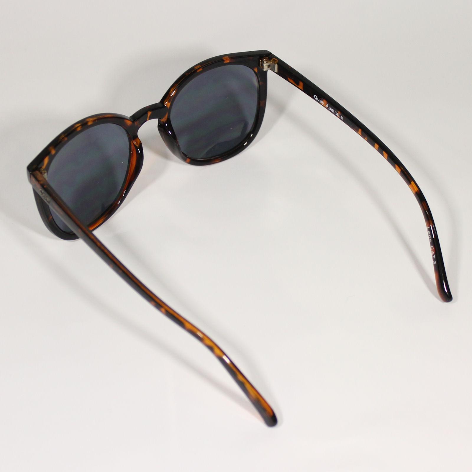 QUAY Australia Damen Sonnenbrille DIXI GOLD brown CmM46nCTa