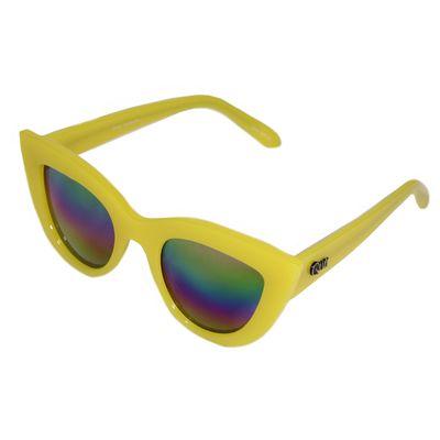 Quay Australia Damen Sonnenbrille KITTI yellow – Bild 1
