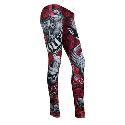 Yakuza Premium Women Leggings GL 2282 red – Bild 1