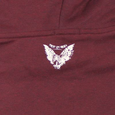 Yakuza Premium Damen Long Sweatshirt GH 2347 weinrot – Bild 4