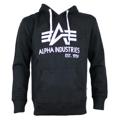 Alpha Industries Sweatshirt BIG A CLASSIC black – Bild 1