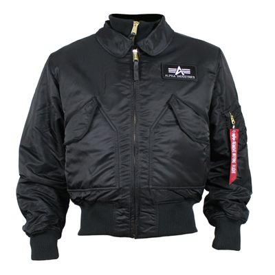 ALPHA INDUSTRIES Bomberjacke mit Weste X-FORCE black – Bild 1