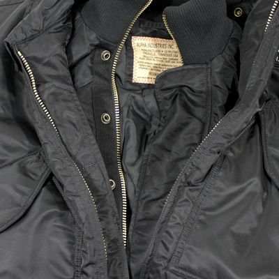 ALPHA INDUSTRIES Bomberjacke mit Weste X-FORCE black – Bild 4