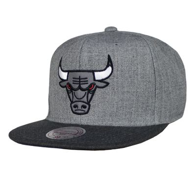 M&N Basecap CHICAGO BULLS Heather Reflective charcoal Snapback – Bild 1