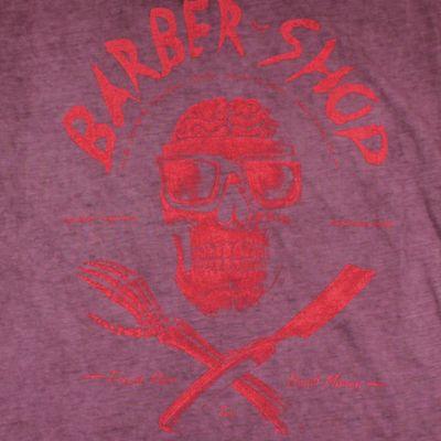 Yakuza Premium Damen T-Shirt GS 2338 purple washed – Bild 3