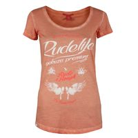 Yakuza Premium Women T-Shirt GS 2340 coral washed 001