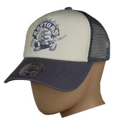 M&N Trucker Cap RAPTORS stone Snapback – Bild 4