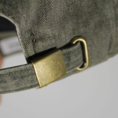 M&N Basecap CAVALIERS Blast Wash Slouch olive Strapback – Bild 4