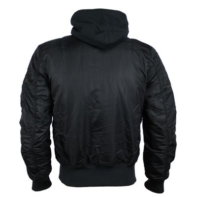 ALPHA INDUSTRIES Fliegerjacke MA-1 D-Tec SE black reflective – Bild 2