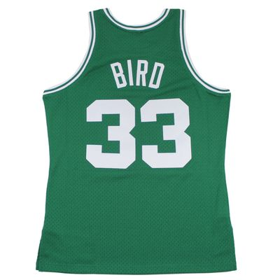 M&N Swingman Jersey LARRY BIRD Boston Celtics 1985-86 NBA Trikot – Bild 2