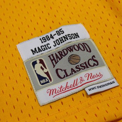 M&N Swingman Jersey MAGIC JOHNSON LA Lakers 1984-85 NBA Trikot – Bild 3