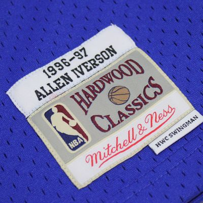 M&N Swingman Jersey ALLEN IVERSON Philadelphia 76ers 1996-97 NBA Trikot – Bild 4