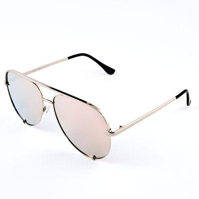 Quay Australia Damen Sonnenbrille High Key gold gold – Bild 1