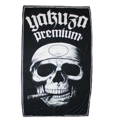 Yakuza Premium towel PROMO SKULL  black – Image 1