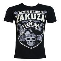 Yakuza Premium T-Shirt YPS 2419 schwarz